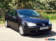 2006 VOLKSWAGEN GOLF TDI SE BLACK DIESEL 1.9 for Sale