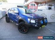 2014 Ford Ranger PX XLT 3.2 HI-Rider (4x2) Blue Automatic 6sp A Crewcab for Sale