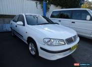 2002 Nissan Pulsar N16 LX White Automatic 4sp A Sedan for Sale