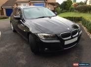 2009 59 BMW 325D SE, 3 Series Diesel, Black, Excellent Condition for Sale