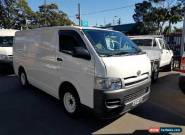 2006 Toyota Hiace KDH200R LWB White Manual 5sp M Van for Sale