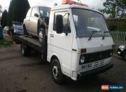 VOLKSWAGEN LT 40 2.4 D Recovery Truck for Sale