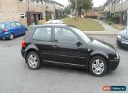 VOLSWAGEN GOLF E 3 DOOR HATCHBACK PETROL 1390 CC CAR - 2002 - LOVELY CONDITION for Sale