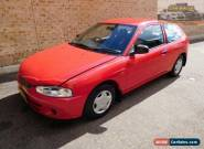 2003 Mitsubishi Mirage CE MY2002 Red Automatic 4sp A Hatchback for Sale