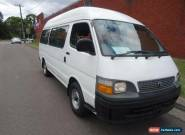 2000 Toyota Hiace RZH125R Commuter White Manual 5sp M Bus for Sale