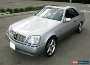 Mercedes-Benz: CL-Class W140 CL-600 V-12 for Sale