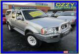 Classic 2006 Nissan Navara D22 ST-R (4x4) Grey Manual 5sp M Dual Cab Pick-up for Sale