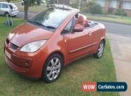 MITSUBISHI  CABRIOLET MY07 CONVERTIBLE for Sale
