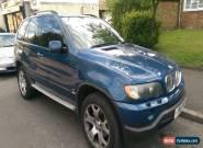 2001 BMW X5 SPORT AUTO BLUE for Sale
