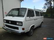 """VW Transporter fitted with an 6 cylinder SVX Subaru engine, """"THERE ARE NO HILLS"""" for Sale"""