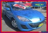 Classic 2011 Mazda 3 BL 10 Upgrade Neo Blue Manual 6sp M Sedan for Sale