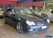 2007 Mercedes-Benz CLK350 C209 07 Upgrade Avantgarde Obsidian Black Automatic A for Sale