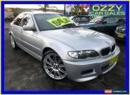 2002 BMW 325I E46 25I Silver Automatic 5sp A Sedan for Sale