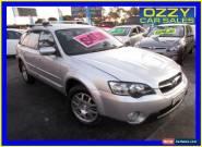 2004 Subaru Outback MY05 2.5I Silver Manual 5sp M Wagon for Sale