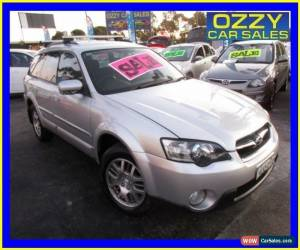 Classic 2004 Subaru Outback MY05 2.5I Silver Manual 5sp M Wagon for Sale