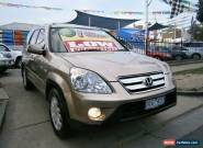 2006 Honda CR-V 2005 Upgrade (4x4) Sport Gold Automatic 5sp A Wagon for Sale