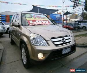 Classic 2006 Honda CR-V 2005 Upgrade (4x4) Sport Gold Automatic 5sp A Wagon for Sale