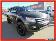 2011 Ford Ranger PX XLT Grey Automatic A 4D Utility for Sale