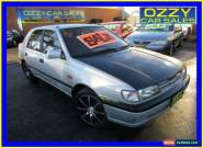 1991 Nissan Pulsar TI Silver Automatic 4sp A Hatchback for Sale