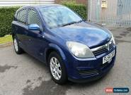 2004 VAUXHALL ASTRA CLUB TWINPORT S-A BLUE for Sale