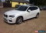 2012 BMW X1 SDRIVE18D M SPORT AUTO WHITE for Sale