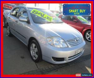 Classic 2006 Toyota Corolla ZZE122R MY06 Ascent Blue Automatic 4sp A Sedan for Sale
