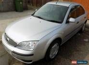 FORD MONDEO LX TDCI 130 SILVER 2005 Full MOT, long service history for Sale