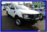 Classic 2012 Ford Ranger PX XL 2.2 (4x4) White Automatic 6sp A Crewcab for Sale