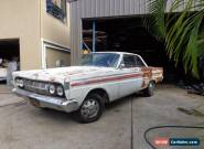 1964 MERCURY COMET 2 DOOR FASTBACK COUPE K CODE 302 MEXICAN BLOCK XM XP FALCON  for Sale