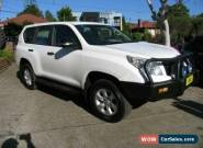 2012 Toyota Landcruiser Prado KDJ150R 11 Upgrade GX (4x4) White Automatic 5sp A for Sale