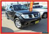 Classic 2008 Nissan Pathfinder R51 MY08 TI Black Automatic 5sp A Wagon for Sale