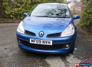 RENAULT CLIO DYNAMIQUE 16V 1.2 PETROL 2009 VERY RELIABLE NICE LOOKING CAR for Sale