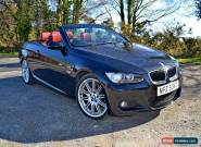 2008 BMW 320D M SPORT CONVERTIBLE HARDTOP FULL RED LEATHER E93 BARGAIN! for Sale