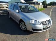 2007 VOLKSWAGEN GOLF SE TDI 140 SILVER for Sale