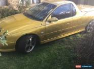 Ss Commodore ute for Sale