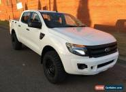2011 Ford Ranger PX XL 2.2 HI-Rider (4x2) White Automatic 6sp A Crewcab for Sale