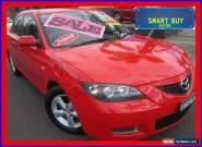 2008 Mazda 3 BK MY06 Upgrade Neo Red Manual 5sp M Sedan for Sale