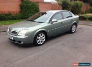 2005 VAUXHALL VECTRA ELITE CDTI AUTO GREEN 3.0 24v V6 LOW MILES ONLY 81k for Sale