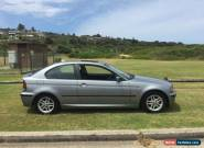 BMW E46 316ti 2003 manual one of a kind 2.0l for Sale