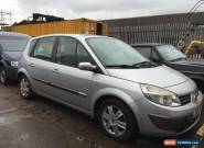 2005 RENAULT SCENIC DYNAMIQUE 16V SILVER (spares or repair) for Sale