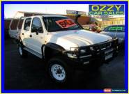 2003 Toyota Hilux LN167R (4x4) White Manual 5sp M Dual Cab Pick-up for Sale