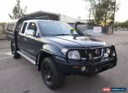 2008 Nissan Navara D40 ST-X Blue Manual 6sp M 4D UTILITY for Sale