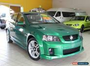 2010 Holden Commodore VE MY10 SV6 Green Automatic A Wagon for Sale