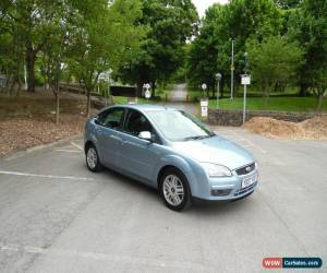 Classic 2007/07 FORD FOCUS GHIA 1.8 TDCI BLUE 5 DR FSH LOW RESERVE 1 FORMER KEEPER HPI C for Sale