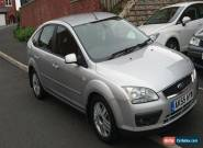 2005 FORD FOCUS GHIA 1.6 PETROL - SILVER for Sale