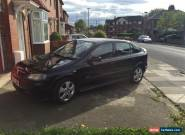 2004 VAUXHALL ASTRA SRI 16V BLACK for Sale