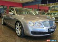 2007 Bentley Continental 3W Flying Spur Silver Tempest Automatic 6sp A Sedan for Sale