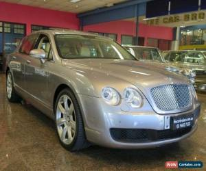 Classic 2007 Bentley Continental 3W Flying Spur Silver Tempest Automatic 6sp A Sedan for Sale