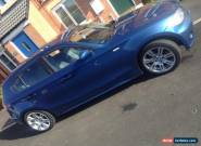 2004 BMW 118D SPORT BLUE...full service history only 87000 miles for Sale
