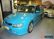 2005 Holden Ute VZ Storm S Blue Manual 6sp M Utility for Sale